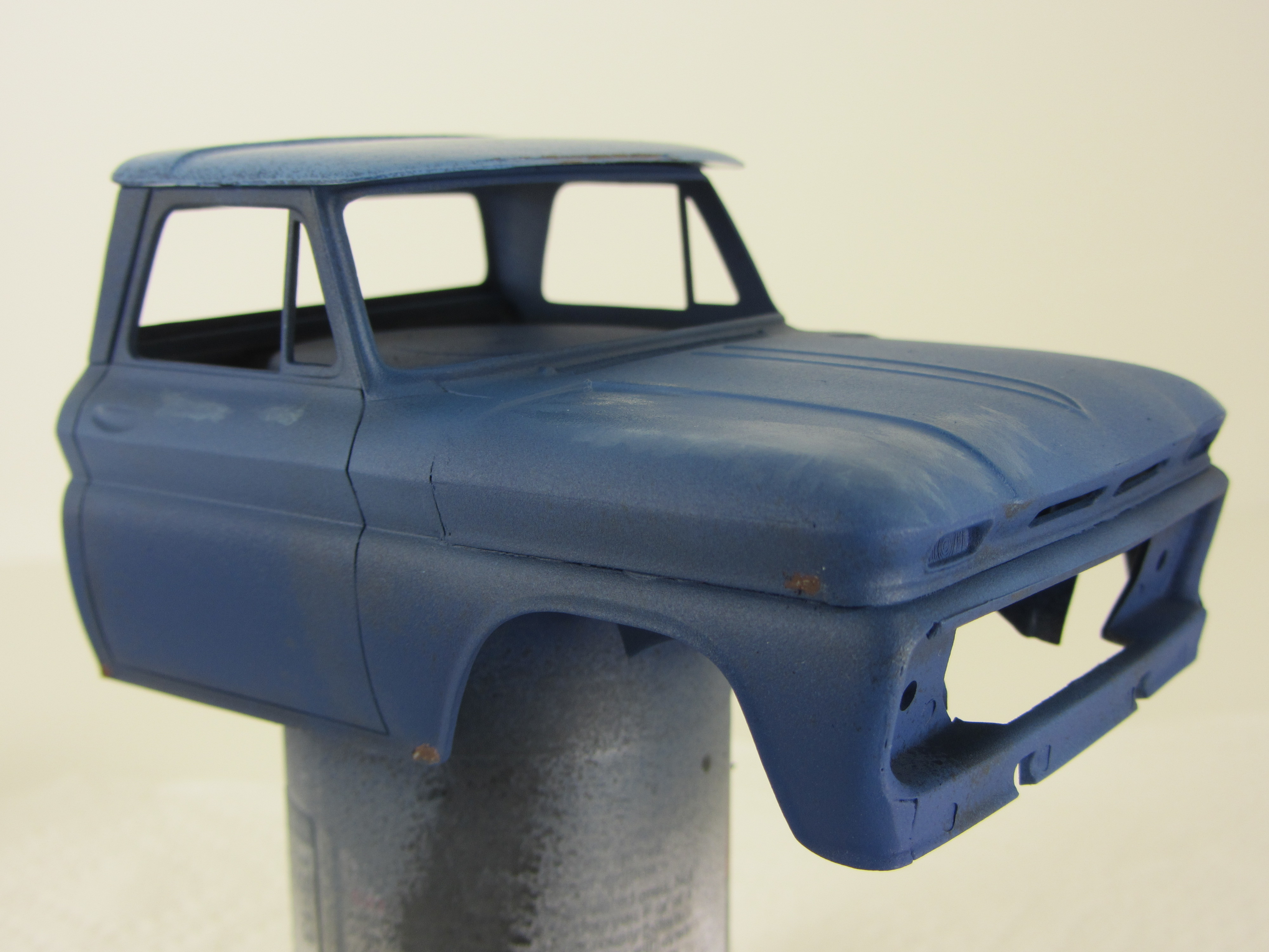 1/25 scale Chevy pickup cab from Revell