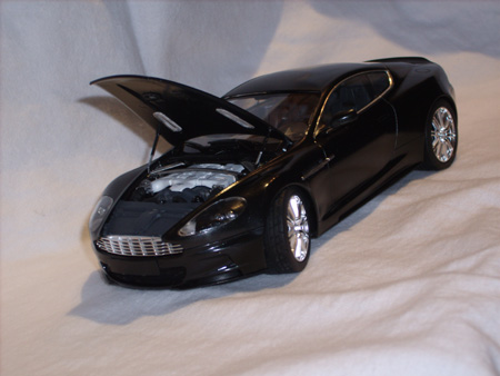 1/24 scale Aston Martin DBS from Tamiya kit