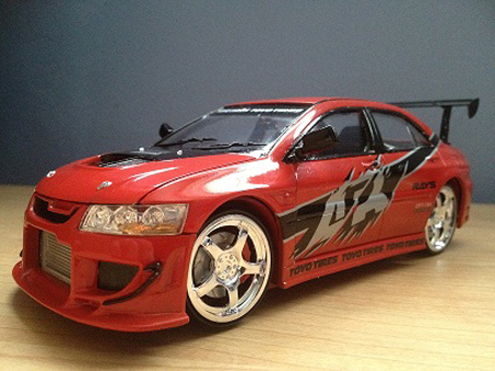 AMT Fast and the Furious 2005 Mitsubishi Lancer Evolution VIII