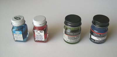 enamel paint assortment